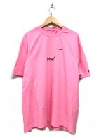 ADER error(アーダーエラー)の古着「半袖カットソー」|ピンク