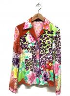 LEONARD(レオナール)の古着「ランダムフラワープリントシャツ」 マルチカラー