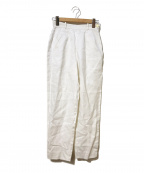 Jean Paul GAULTIER(ジャンポールゴルチエ)の古着「[OLD]リネントラウザーズパンツ」|ホワイト