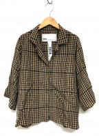ticca(ティッカ)の古着「半袖開襟シャツ」 ベージュ