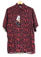 reyn spooner(レイン スプナー)の古着「アロハシャツ」 レッド