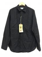 ()の古着「4ポケットワークシャツ」|ブラック
