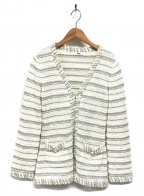Rene(ルネ)の古着「ツイードジャケット」|ホワイト