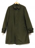 SHIPS(シップス)の古着「中綿ライナー付スタンドカラーコート」 オリーブ