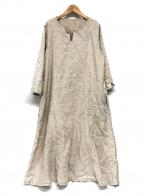 nest Robe(ネストローブ)の古着「リネンワンピース」|ベージュ