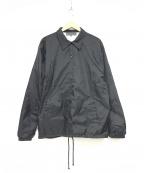 GOOD DESIGN SHOP COMME des GAR(グッドデザインショップ コムデギャルソン)の古着「コーチジャケット」 ブラック