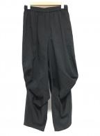 慈雨(ジウ)の古着「イージーバルーンパンツ」|ネイビー