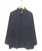 BLUE BLUE(ブルーブルー)の古着「インディゴカバーオール」|インディゴ
