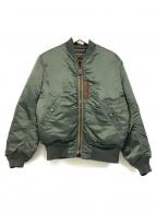 ()の古着「MA-1ジャケット」|カーキ
