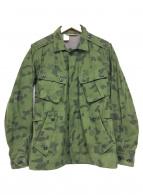 ()の古着「ミリタリージャケット」|グリーン