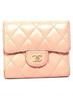 ()の古着「3つ折り財布」|ピンク