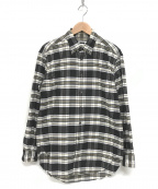 H BEAUTY&YOUTH(エイチ ビューティアンドユース)の古着「ボタンダウンシャツ」|グレー