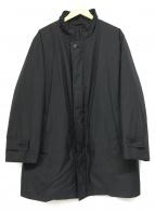 ()の古着「ノヴァチェックダウンライナージャケット」 ブラック