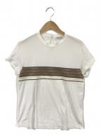 BRUNELLO CUCINELLI(ブルネロクチネリ)の古着「半袖カットソー」 ホワイト