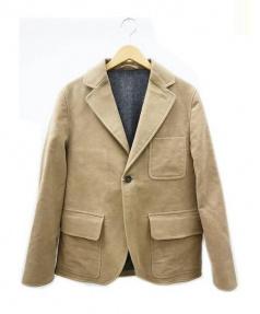 S.E.H KELLY(エスイーエイチケリー)の古着「モールスキン ジャケット」|ベージュ