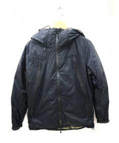 NANGA(ナンガ)の古着「AURORA 3LAYER DOWN BLOUSON ジャケ」|ブラック