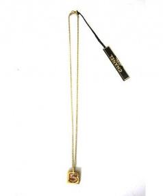 CHANEL(シャネル)の古着「ラインストーンネックレス」|ゴールド色