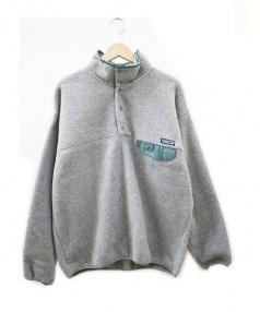 Patagonia(パタゴニア)の古着「シンチラスナップT フリース ジャケット」|グレー