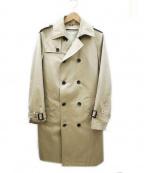 MORGAN HOMME(モルガンオム)の古着「トレンチ コート」|ベージュ