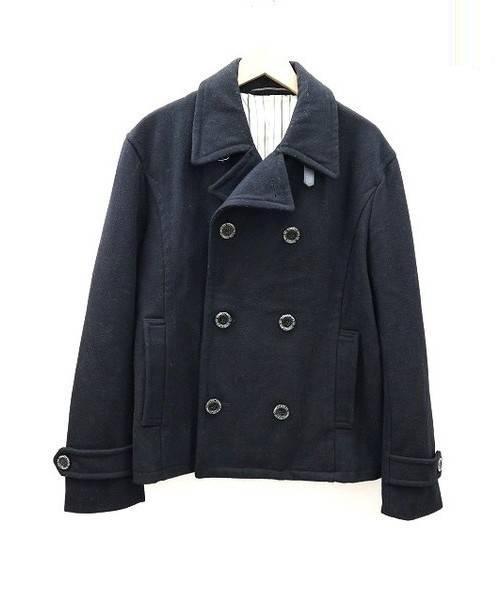 Pherrows Pherrows (フェローズ) ウール コート ブラック サイズ:XL