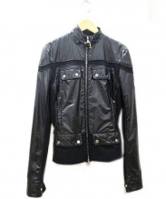 Belstaff(ベルスタッフ)の古着「モーター サイクル ジャケット」|ブラック
