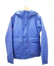 BURTON(バートン)の古着「中綿 ジャケット」 ブルー