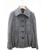 BURBERRY(バーバリー)の古着「ショート ジャケット」|グレー