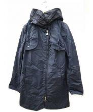 MONCLER(モンクレール)の古着「フード付ナイロン クロス コート」|ネイビー