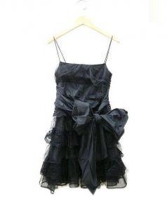 RED VALENTINO(レッド ヴァレンティノ)の古着「ドレス ワンピース」|ブラック