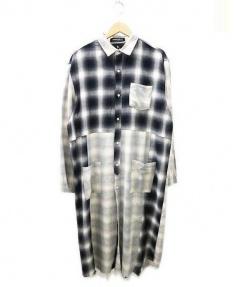 MACKDADDY(マックダディ)の古着「Special long shirts シャツ」|グレー