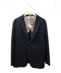 TETSU s.p.a.(テツエスピーエー)の古着「カシミヤ ジャケット」 ネイビー