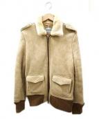 R.H.Vintage(ロンハーマンヴィンテージ)の古着「A-2ムートン ジャケット」|ベージュ