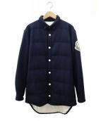 Moncler X Ami(モンクレール)の古着「ダウンシャツジャケット」|ネイビー