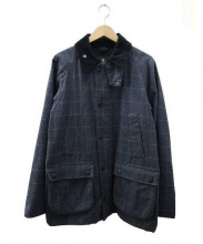 Barbour(バブアー)の古着「SL BEDALE WOOL CHECK WAXED 」|グレー