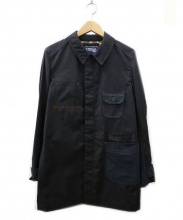 JUNYA WATANABE MAN(ジュンヤワタナベマン)の古着「切替 カバーオール」|ブラック