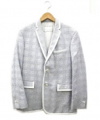 Black Fleece(ブラックフリース)の古着「パイピングテーラードジャケット」|グレー