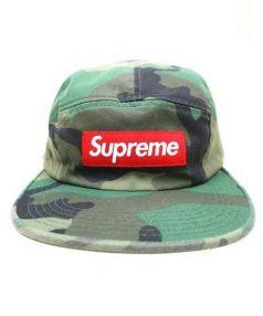 Supreme(シュプリーム)の古着「Washed Chino Twill Camp Cap」|グリーン