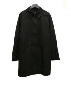 Aquascutum(アクアスキュータム)の古着「ライナー付トレンチコート」|ブラック