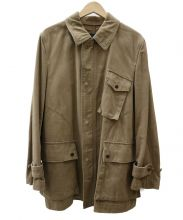 COMME des GARCONS HOMME(コムデギャルソンオム)の古着「ステンカラーコート」|ベージュ