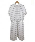 LACOSTE(ラコステ)の古着「キャディニットポロドレス」|ホワイト