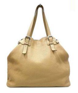 PRADA(プラダ)の古着「ハンドバッグ」|ベージュ