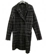 DIESEL(ディーゼル)の古着「ウールコート」|ブラック