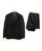 POLO RALPH LAUREN(ポロラルフローレン)の古着「セットアップダブルウールスーツ」|チャコールグレー
