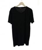 BALMAIN(バルマン)の古着「ダメージ加工Tシャツ」|ブラック