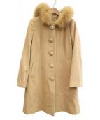 LAISSE PASSE(レッセパッセ)の古着「ウールコート」|ベージュ