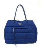 PRADA(プラダ)の古着「トートバッグ」 ブルー
