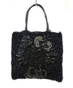 ANTEPRIMA(アンテプリマ)の古着「ワイヤーハンドバッグ」|ブラック