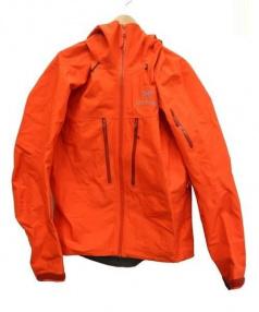 ARCTERYX(アークテリクス)の古着「Alpha SV Jacket」|オレンジ