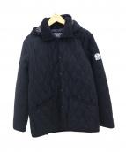 FIDELITY(フェデリティー)の古着「フード付キルティングジャケット」|ブラック
