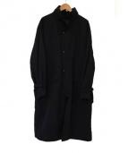 COMOLI(コモリ)の古着「ストームコート」 ブラック